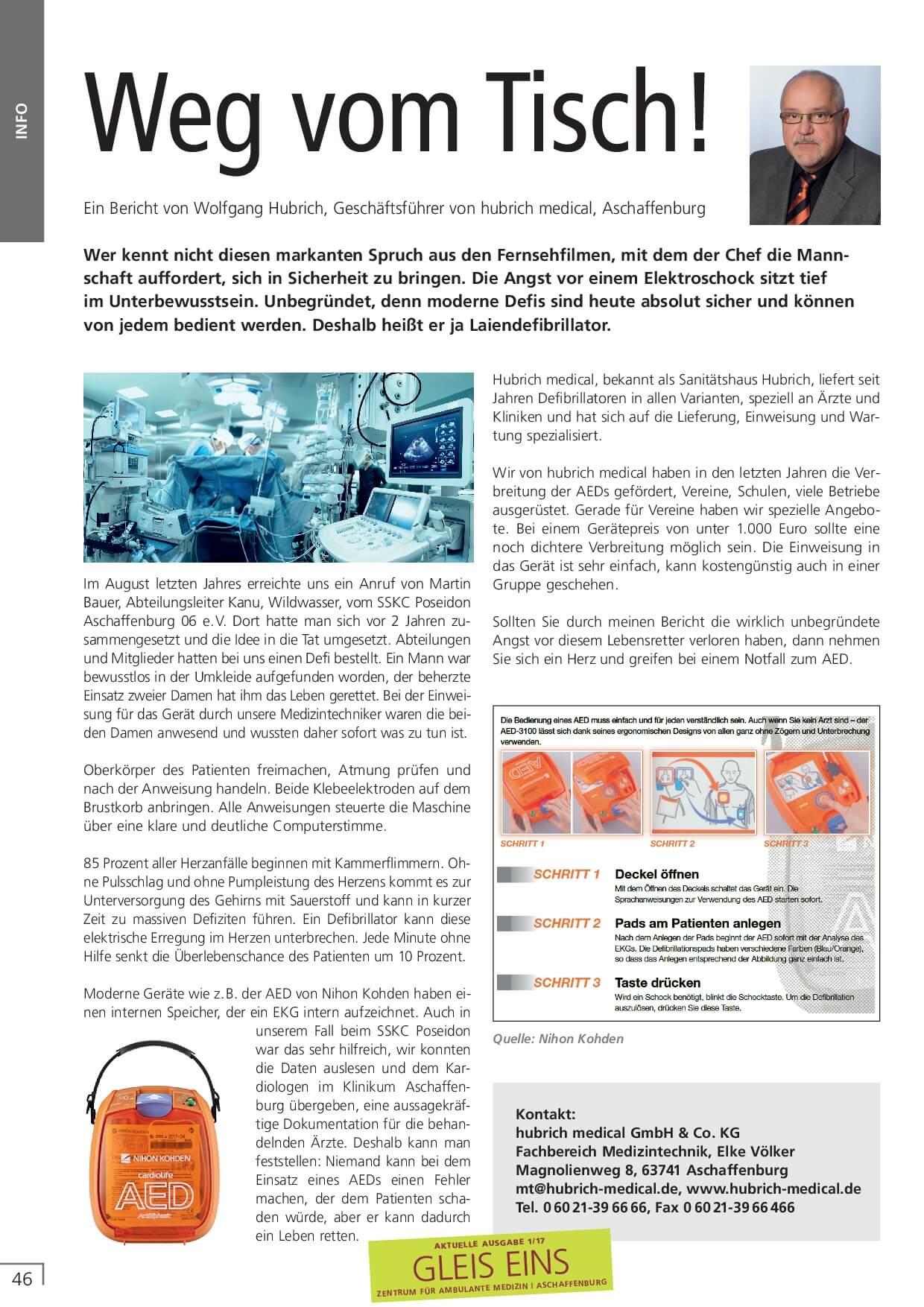 Druck Pdf 17 Ausg 01 2017 Hubrich 001 Hubrich Medical